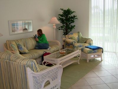 photo 1 - Fort Myers Vacation Condo - living room