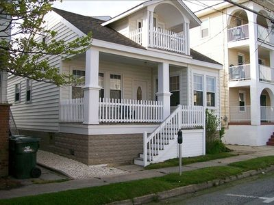 Wildwood house rental - Just a block from the beach on Atlantic Ave near Bennett Ave