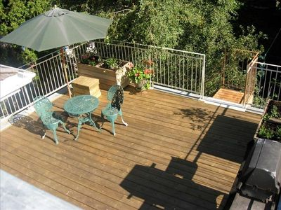Montreal apartment rental - terrace, barbecue
