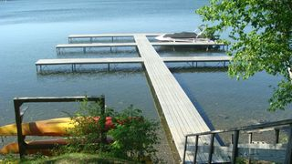 Copake house photo - Boat docks