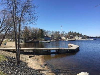 Right on the water in the Historic Heart of the Village of Ranier, Minnesota