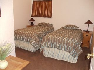 Ouray house photo - 3rd Bedroom: X-long beds convert to King. Please let us know before arrival.