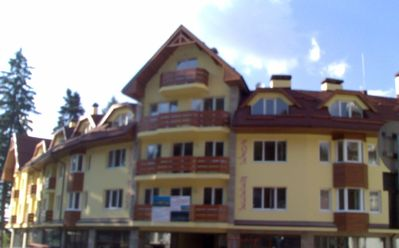 Borovets apartment rental - Royal Plaza Apartments (ours = top left)