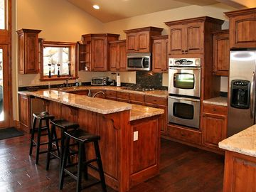 Beautiful Kitchen with Bar seating