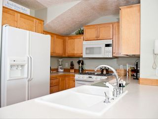 Depoe Bay condo photo - Seacliff Loft - Fully Equipped Kitchen