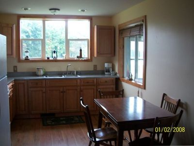 Kitchen with Pass Through Window to the Front Porch