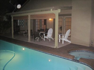 Ahwatukee house rental - Evening Pool and Hot Tub
