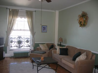 Living Room (now with Flat Screen TV)