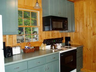 Seal Cove cottage photo - Fully equipped kitchen with dishwasher