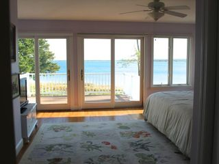 Aquebogue house photo - 2nd floor suite view of the Peconic bay and balcony