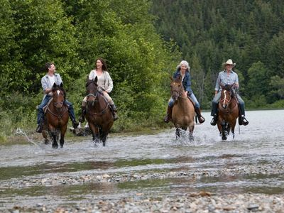 Horseback Riding in Whistler, British Columbia