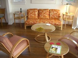 Silver Lake apartment photo - Mid-century furnishings-- fully restored-- throughout.