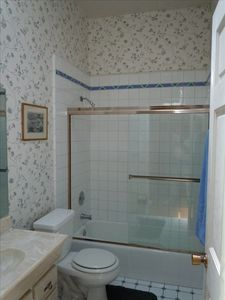 Tiled Upstairs Bathroom