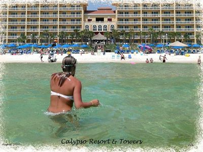 Make a splash at the Calypso Resort & Towers!