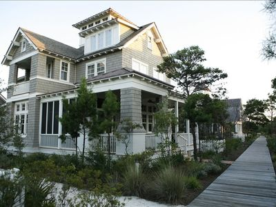 Front Porches; Screened Parkside Dining; Boardwalk to the Beaches of WaterSound