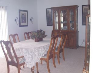 Lewis and Clark Lake house photo - Formal dining room