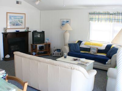 Holgate house rental - Comfortable Living Room