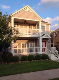 Fayetteville house rental - Front view