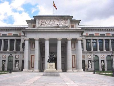 PRADO Museum. 3 min walking distance from cHic mAdrid cEnter