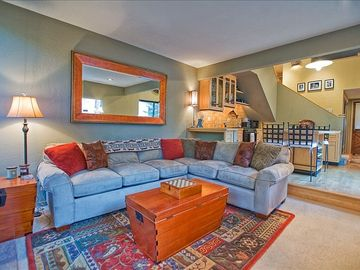 Ketchum condo rental - Family room