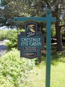 The Chestnut Log Cabin, your home away from home.
