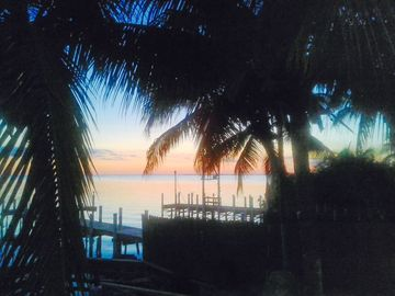 Key Largo house rental - There is the reason why our place is called SUNSET cove :-)