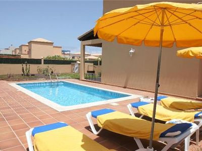 Holiday Home for 4 persons, with swimming pool, in La Oliva's Corralejo