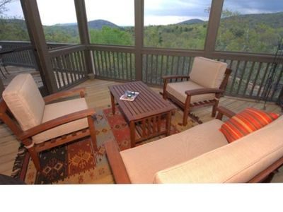 Check out the amazing view from the screened porch