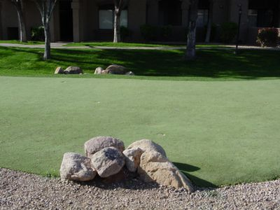 Practice Putting Area