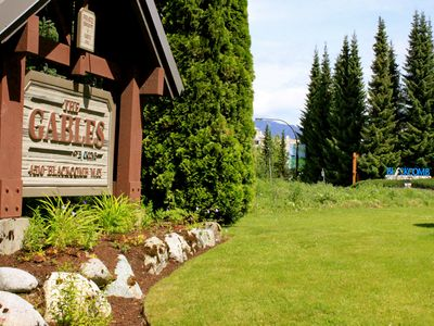 Welcome to the Gables 150 metres from Whistler Village and the lifts