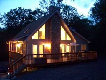 Masthope chalet rental - Chalet at Night