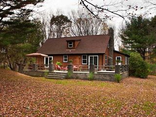 Rhinebeck property rental photo - Nestled on 3 private acres.
