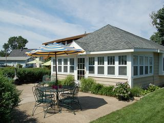 South Haven cottage photo - Sunny, Spacious Patio. Perfect for enjoying the beautiful Michigan weather