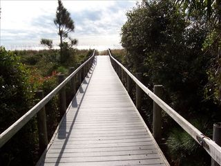 Forest Beach villa photo - Beach Walkway - Hilton Head, SC