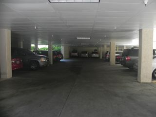 Palmetto Dunes condo photo - Covered parking under the building. Space is limited.