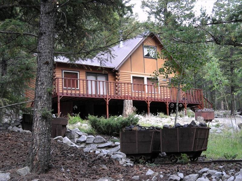 alpine colorado log cabin st elmo area vrbo