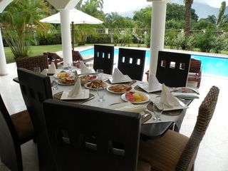 Puerto Plata villa photo - Breakfast Prepared & Served on the Veranda Each Morning