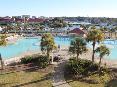 Largest Salt Water Pool in SC-Covered Hot Tub