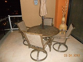 Puerto Penasco condo photo - Spacious patio deck overlooking the amazing ocean, courtyard and pool areas.