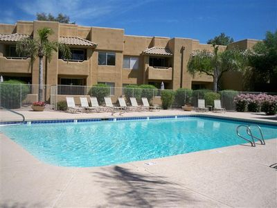 Chandler condo rental - One of three amazing pools on this complex