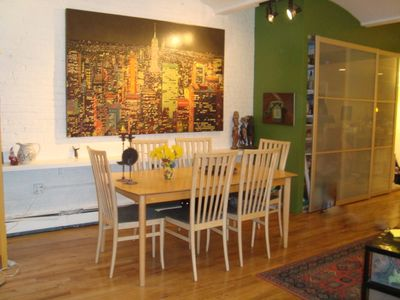 Greenwich Village condo rental - Dining Room 01