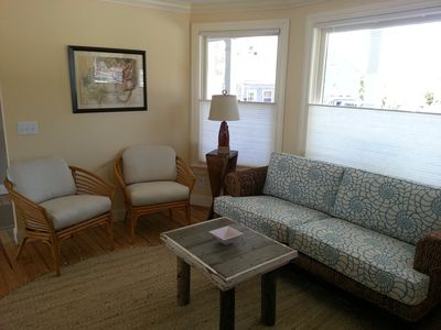 Provincetown house rental - TV Room Sitting Area