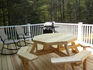 North Conway house photo - New deck — just added