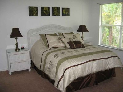 Master Bedroom with Slider to Lanai