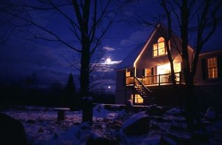 Wilmington chalet photo - Moon light view