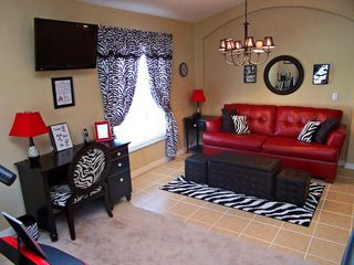 Zebra Relaxation Room - Highgate Park villa vacation rental photo