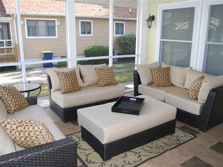 Rehoboth Beach house photo - Relax in the screened in porch