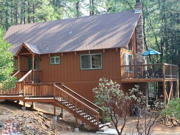 Arnold cabin rental - Surrounded by pine trees, we are at 4500 ft in the Blue Lake Springs area.