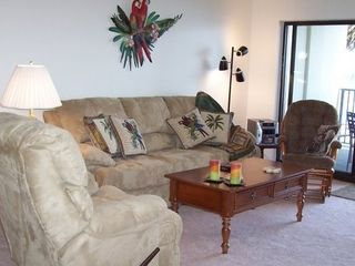 New Smyrna Beach condo photo - Living room area