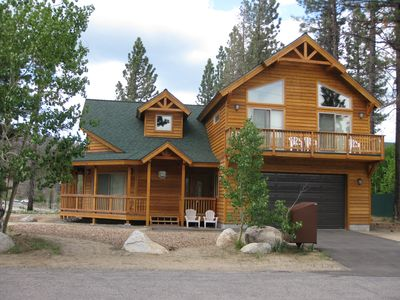 North Upper Truckee house rental - Front View of house